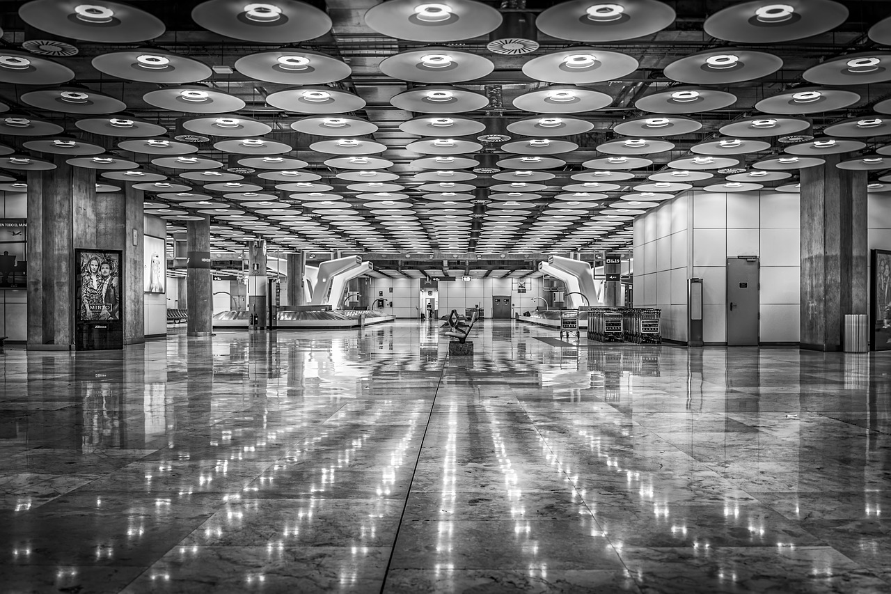 Parking larga estancia t4 aeropuerto Madrid 34
