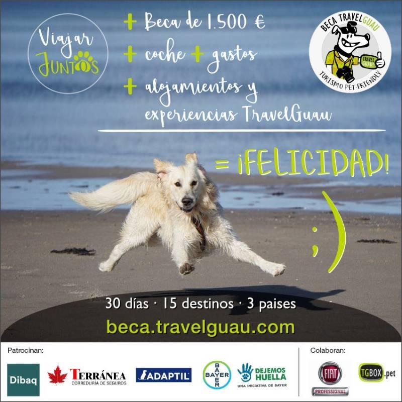 TravelGuau lanza la Mejor Beca del Mundo para viajar 30 días con mascota descubriendo 15 destinos 2