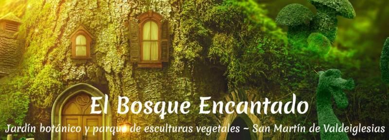 Descubre El Bosque Encantado Madrid - Jardín Botánico de esculturas vegetales vivas 2