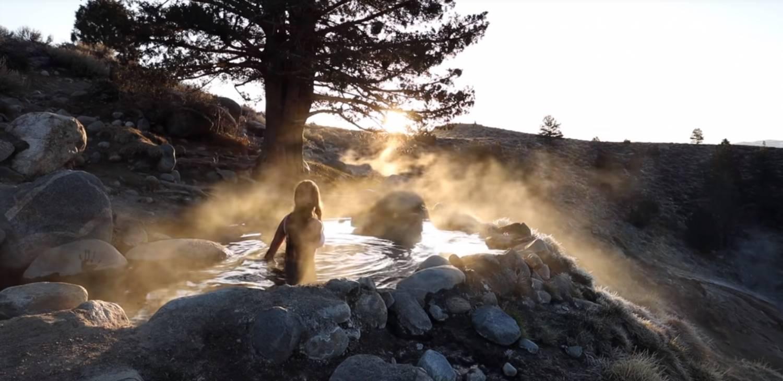 viajar en furgoneta camperizada: una aventura de aguas termales 7