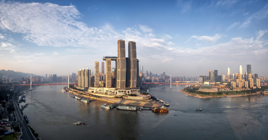 viajar por china para ver The Crystal en Raffles City Chongqing 4