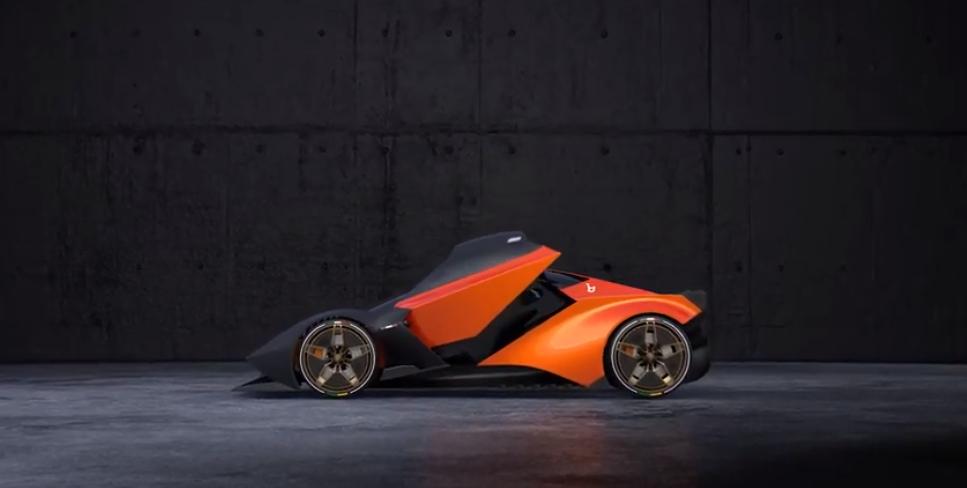 Lancia L Concept: una belleza para viajar inspirado en el Stratos Zero 12