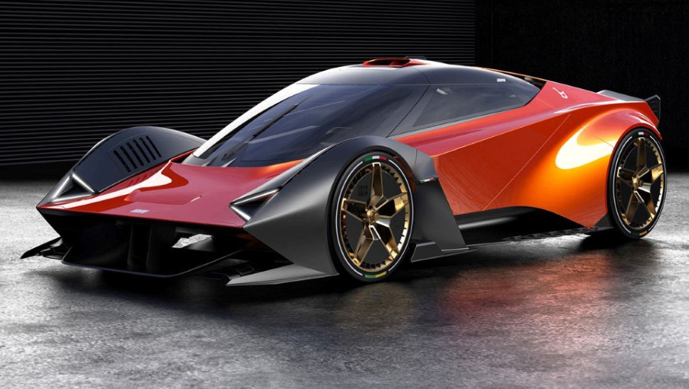Lancia L Concept: una belleza para viajar inspirado en el Stratos Zero 4