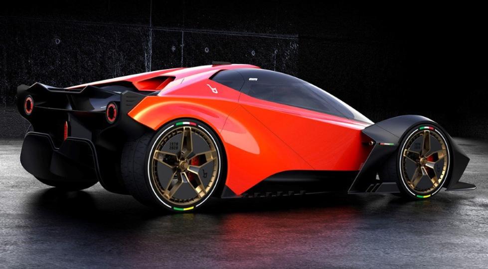 Lancia L Concept: una belleza para viajar inspirado en el Stratos Zero 3