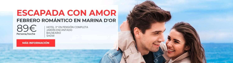 Escapadas románticas San Valentín Marina d'Or 2