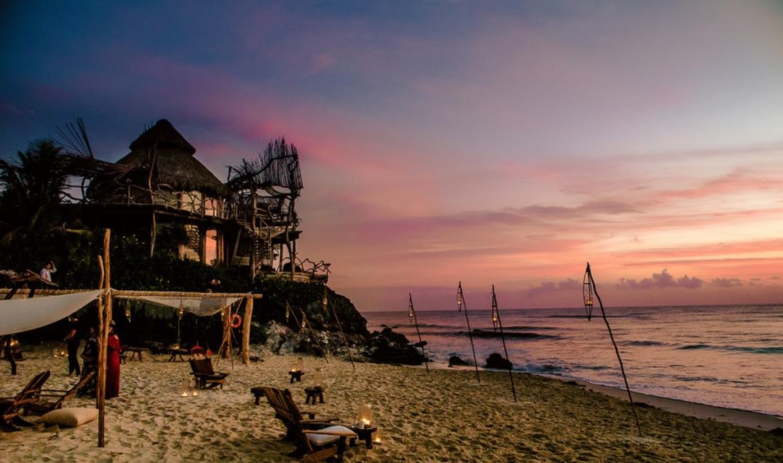 hotel azulik, viajar por la costa mexicana 2