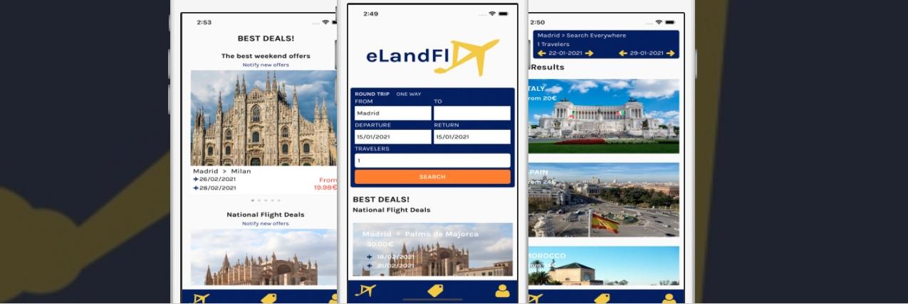 eLandFly: tu nuevo comparador de vuelos y hoteles