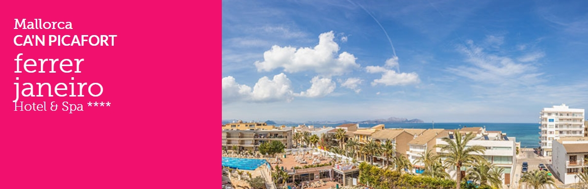 Ofertas y promociones de Ferrer Hotels en Mallorca & Menorca al Mejor Precio Garantizado. 2