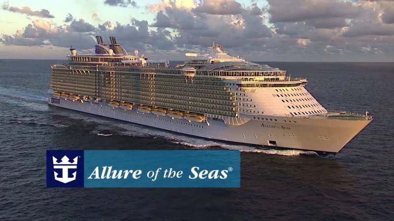 ALLURE OF THE SEAS VIDEO - Presentación Royal Caribbean 30