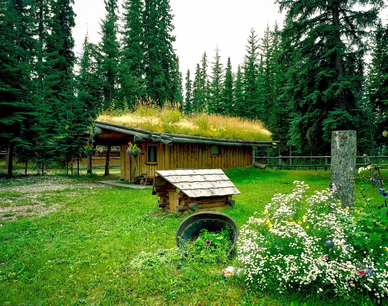 de casas rusticas con jardin y cesped, hablamos de casas rurales en F&C DECOR MAGAZINE 1
