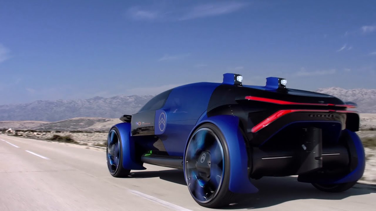 Coche Eléctrico Citroën: El Concepto De Movilidad Urbana Eléctrica - VIAJEROS ONLINE