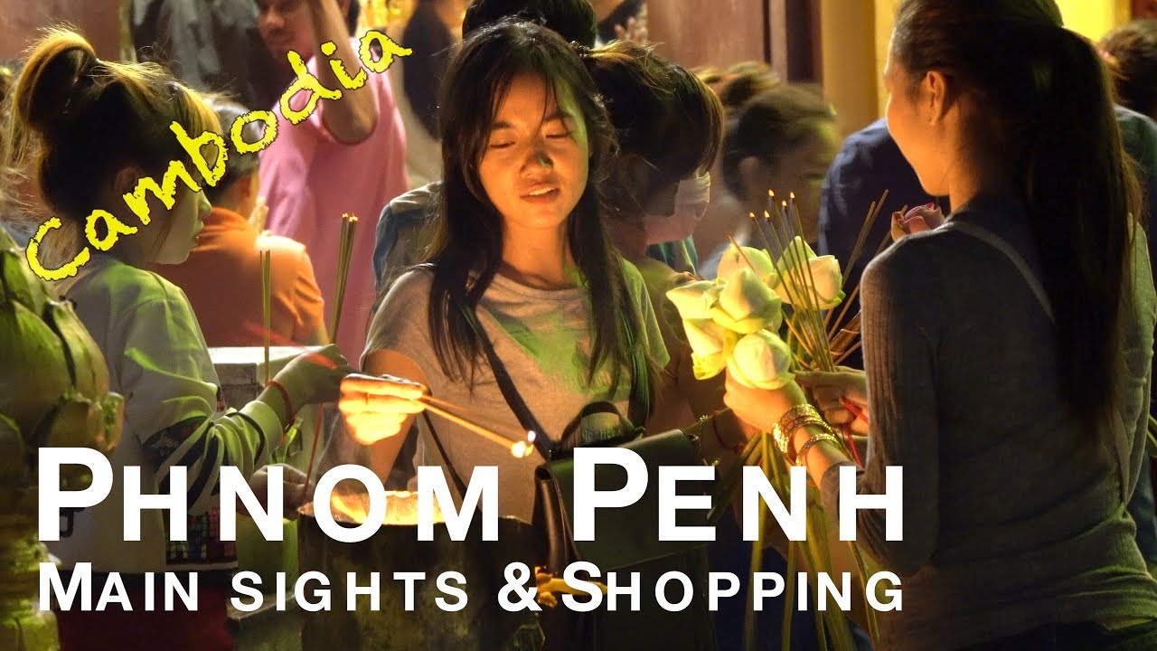 de compras y restaurantes por Phnom Penh - Camboya 43