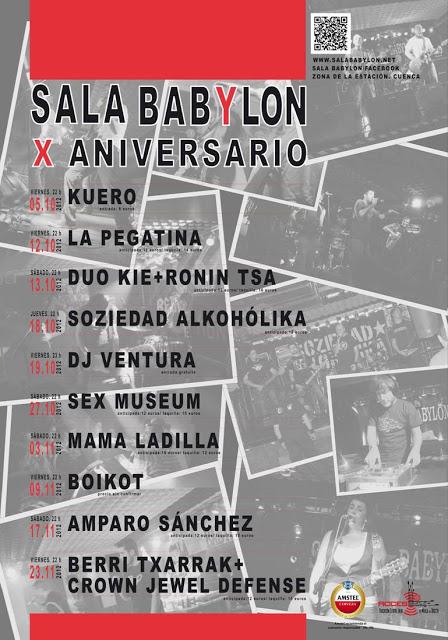 Décimo aniversario de la Sala Babylon 2