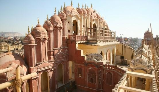 UN LUGAR: Jaipur, Palace of the Winds 2