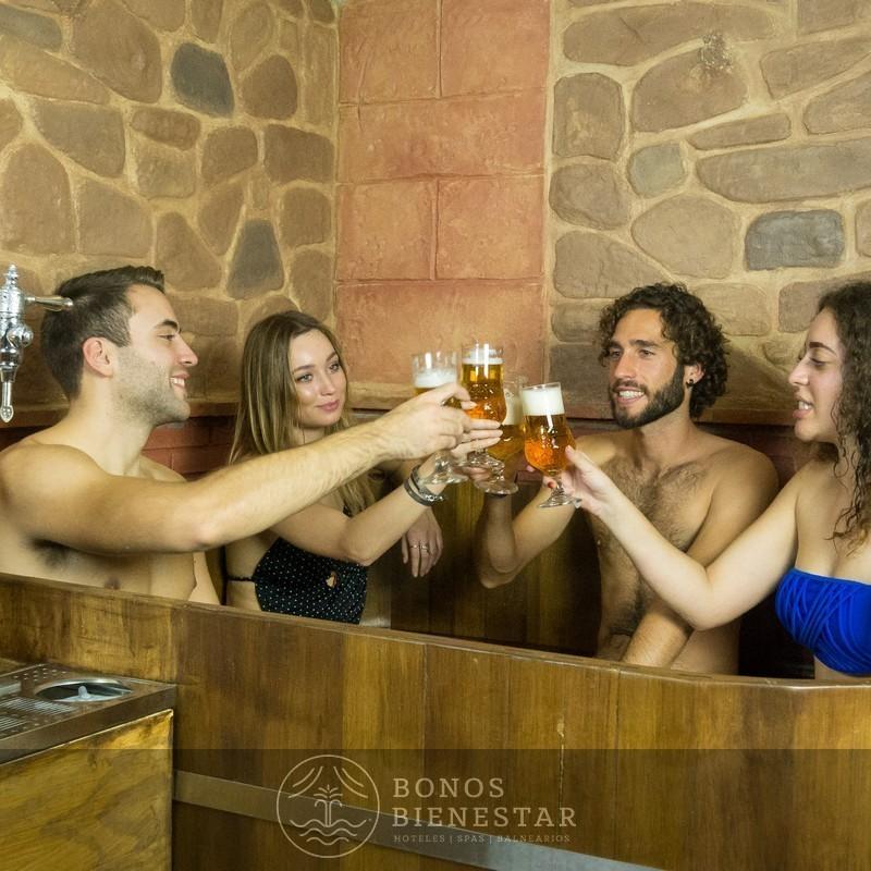 Circuito Beer Spa para Estudiantes en el Beer Spa Alicante 2