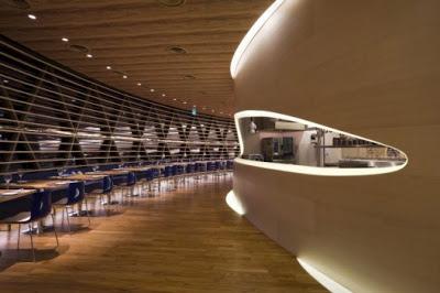 En el Restaurant Nautilus Project, de Singapur. 40