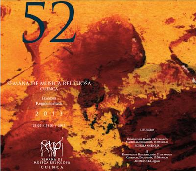 QUE VER EN CUENCA: Semana de Música Religiosa 2