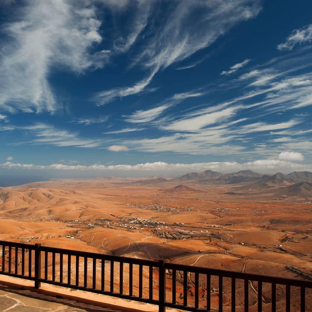 morro velosa: Vistas tranquilas del interior de Fuerteventura 7
