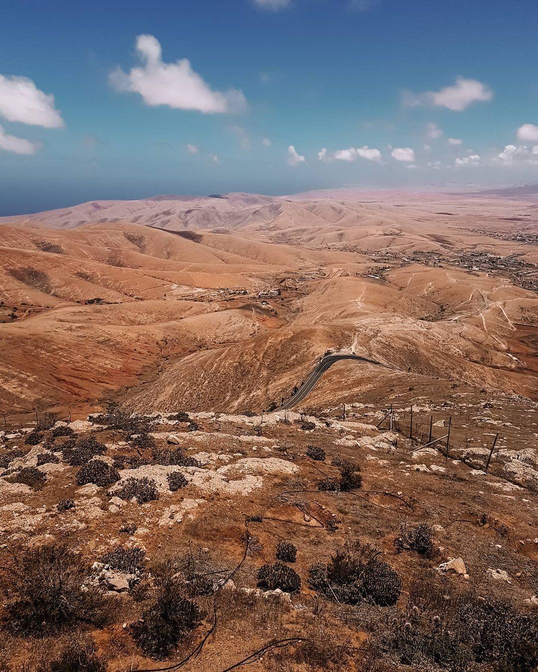 morro velosa: Vistas tranquilas del interior de Fuerteventura 5