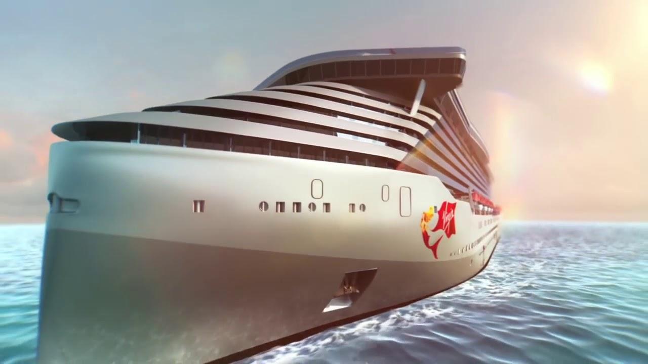 LUXURY CRUISES: El Primer barco de Virgin Voyages 2