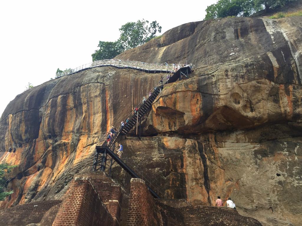 En Sri Lanka está Sigiriya, o la Roca del León 1