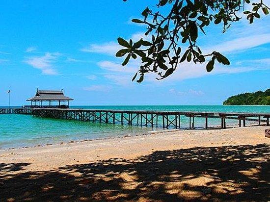 PULAU TIGA RESORT: Un sitio la mar de tranquilo 4